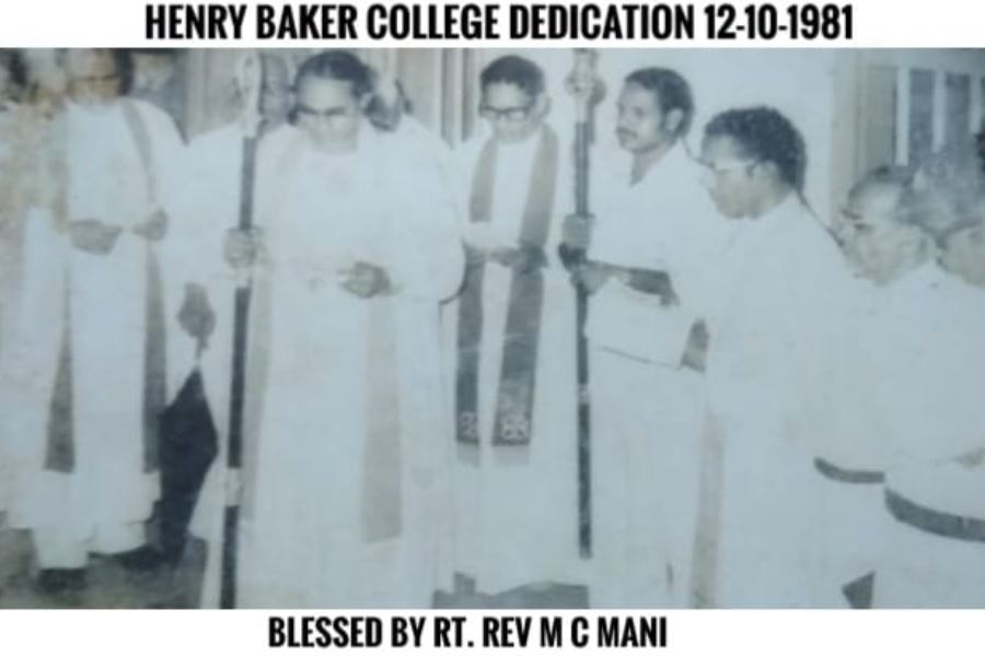 Henry Baker College Dedication